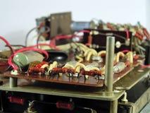 O dispositivo electrónico velho Fotografia de Stock