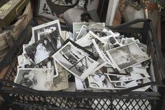 O distrito antigo de Istambul no ukurcuma do ‡ de Ã, solenoide velho das fotos de família fotografia de stock
