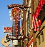 O distrito - cidade da música - Nashville, TN Imagens de Stock Royalty Free