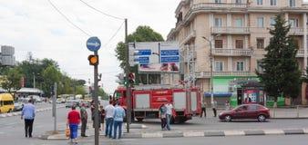 O distrito histórico de Isani em Tbilisi Imagens de Stock Royalty Free