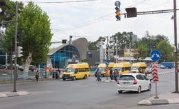 O distrito histórico de Isani em Tbilisi Fotografia de Stock