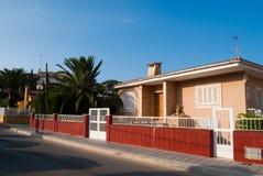 O distrito residencial pode dentro Picafort Fotografia de Stock