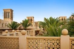 O distrito velho de Dubai, Madinat foto de stock