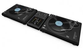 O DJ engrena Fotografia de Stock Royalty Free