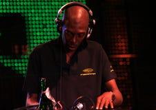 O DJ Faithless ajustou 2 Imagem de Stock