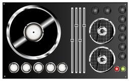 O DJ mistura Foto de Stock Royalty Free