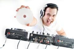 O DJ party Fotografia de Stock Royalty Free
