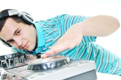 O DJ party Foto de Stock