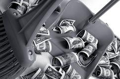 O dólar estava enfraquecendo-se Fotos de Stock Royalty Free