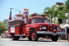 4o do Huntington Beach CA EUA da parada de julho Imagens de Stock Royalty Free