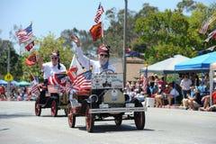 4o do Huntington Beach CA EUA da parada de julho Fotos de Stock