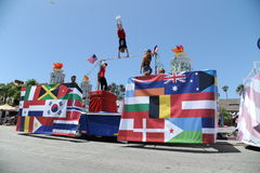 4o do Huntington Beach CA EUA da parada de julho Foto de Stock Royalty Free