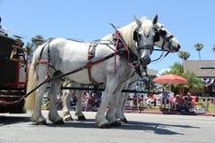 4o do Huntington Beach CA EUA da parada de julho Fotografia de Stock Royalty Free