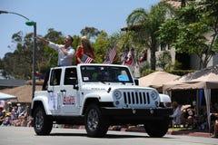 4o do Huntington Beach CA EUA da parada de julho Imagem de Stock