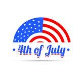 4o do independenece de julho Foto de Stock