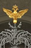 O dobro dirigiu a águia fotos de stock royalty free