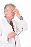O Doc é tired fotografia de stock