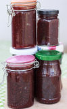 O doce de morango range caseiro Foto de Stock Royalty Free