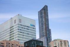 O doente caçoa o hospital em Toronto, Canadá Fotos de Stock