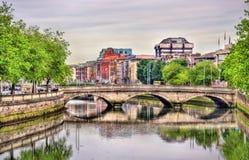 O'Donovan Rossa Bridge in Dublin Stockfoto