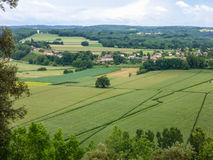 O Dordogne de França Fotografia de Stock