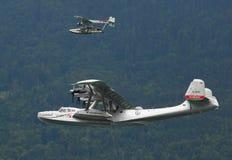 O Dornier Do.24 e Sikorski S-38. Imagens de Stock