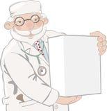 O doutor prende a caixa Foto de Stock