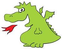 O dragão ilustração stock