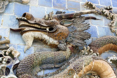 O dragão chinês poderoso Fotografia de Stock