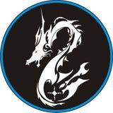 O dragão do vetor Fotos de Stock Royalty Free