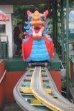 O dragão no parque de diversões de shenzhen Imagem de Stock