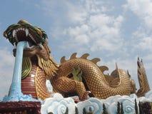O dragão poderoso Foto de Stock