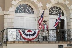O Dungeon velho Charleston da troca e do reitor, South Carolina imagens de stock royalty free