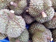 O durian tailandês tem um aroma espinhoso afiado foto de stock royalty free
