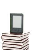 O E-livro inflama o dispositivo de leitura sem fio Imagem de Stock Royalty Free