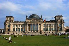 O edifício de Reichstag Imagens de Stock