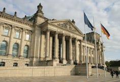 O edifício de Reichstag Foto de Stock Royalty Free