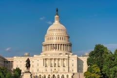 O edifício do Capitólio de Estados Unidos, Washington DC imagens de stock