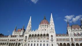 O edifício húngaro do parlamento imagem de stock