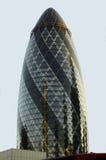 O edifício Londres do pepino Foto de Stock Royalty Free