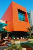 O edifício moderno   imagem de stock royalty free