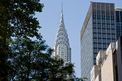 O edifício moderno de NY foto de stock