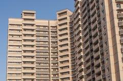 O edifício multi-storey novo fotografia de stock