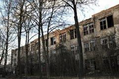 O edifício velho Imagem de Stock Royalty Free