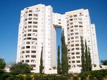O edificio residenziale 2011 di palazzo multipiano di Yehuda Neve Rabin Fotografia Stock