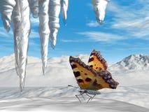 O efeito de borboleta Imagem de Stock