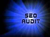 2.o ejemplo de Seo Audit Website Ranking Assessment ilustración del vector