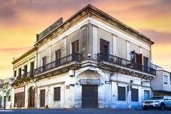 O EL velho Siglo da barra na rua de 25 de Mayo, Montevideo, Uruguai Foto de Stock