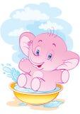 O elefante puro Fotografia de Stock Royalty Free