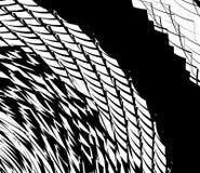 O elemento, teste padrão com ondulado, distorceu linhas Geométrico abstrato ilustração royalty free